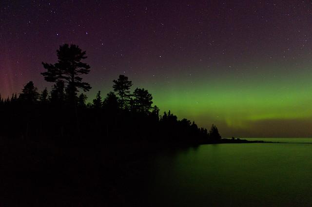 Aurora at High Rock Bay