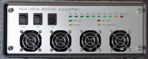 Compact PA front panel | by ad6xy