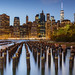 Lower Manathan Skyline from Brooklyn Heights by Loïc Lagarde