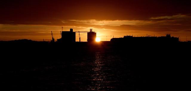 Enjoy every sunset,look forward to every sunrise