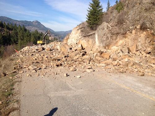 construction bc roadsafety grandforks blasting