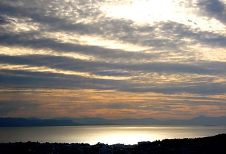 Saronic Gulf from Athens, 3 November 2015 | by Maria Di