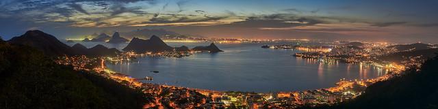 Sunset @Niterói, Rio de Janeiro, Brazil