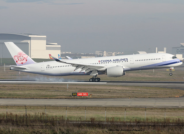 China Airlines. Airbus A350-941.