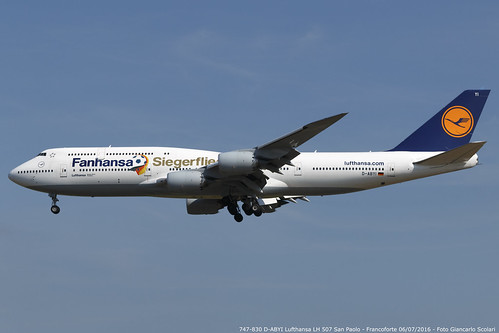 D-ABYI 747-830 LH 507 GRU-FRA | by Giancarlo Scolari