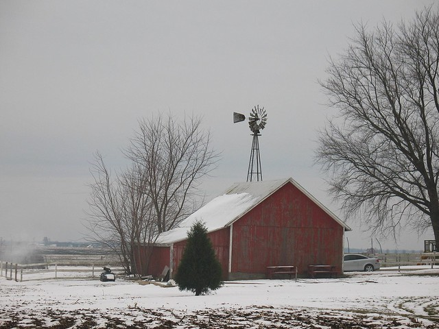 A Winter Windmill