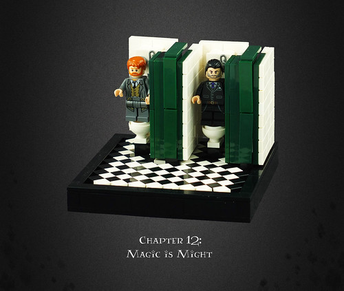 Harry Potter and the Deathly Hallows 07 – Infiltrating the Ministry: Transport by 'Loo'-powder