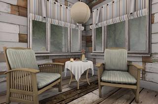 Serenity Style- Summer Camp Kitchen Breakfast | by Hidden Gems in Second Life (Interior Designer)