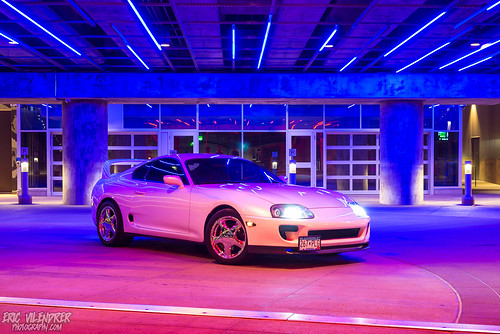 Toyota Supra | by ericvilendrerphoto