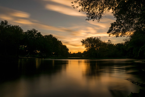longexposure trees sunset sky reflection tree silhouette clouds standing work reflections river geotagged evening nikon unitedstates indiana le elkhart stjosephriver nikond5300