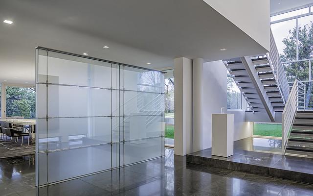 The Rachofsky House - Retractable Glass Wall