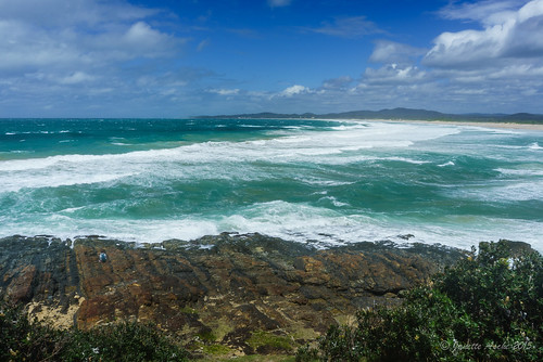 sea beach water coast rocks windy australia coastal bushwalking nsw newsouthwales banksia rough bushwalk 2015 wooli yuraygirnationalpark bushwalker diggerscamp wilsonsheadland sonya7r janetteasche