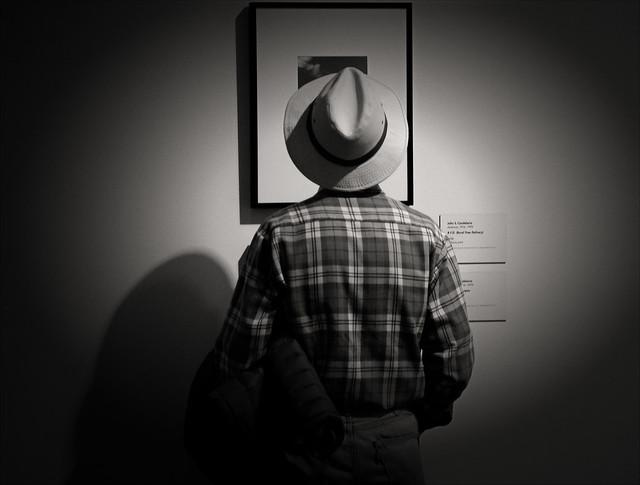 Farmer as art lover