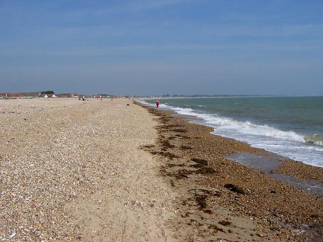 The beach at Pagham