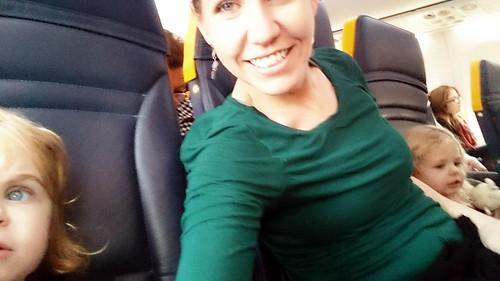 2016 - Europe - Travel - Mid Trip - Airplane Julie with Girls Best | by SeeJulesTravel
