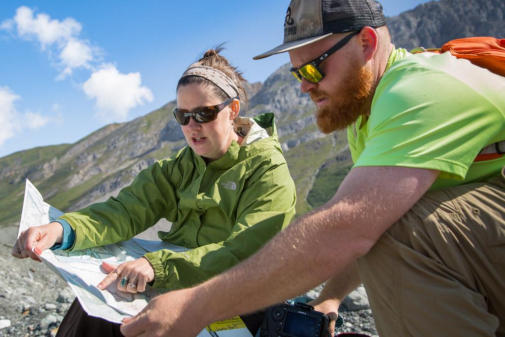 Map reading, Donoho Basin