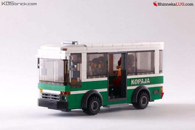 Kopaja - Jakarta Brick City 2015