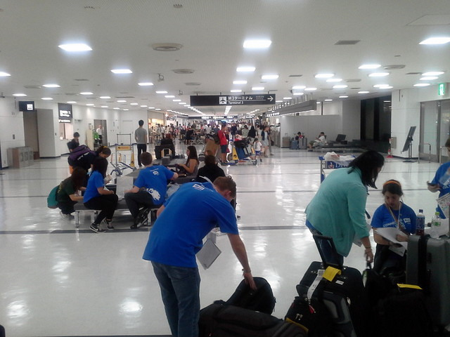 In the Japanese Airport
