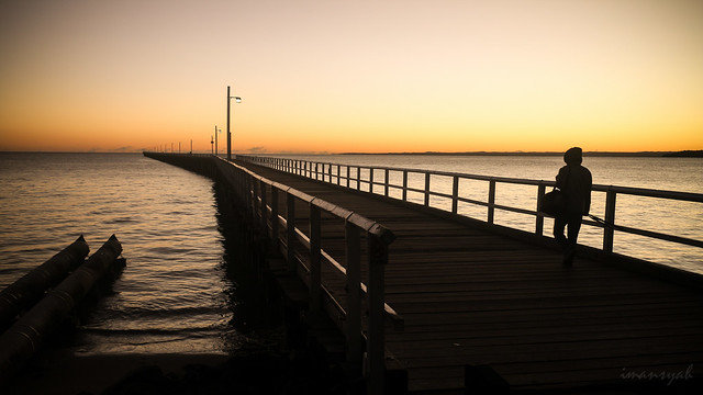 1.1 kilometers Pier