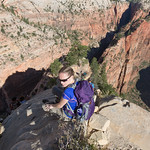 Waiting to go down, Angel's Landing