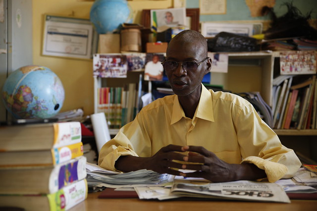 Headteacher Ababacar Badiane of L'Ecole PAC in Dakar, Senegal, said the training provided to his teachers has made them far more attentive to the needs of their students.