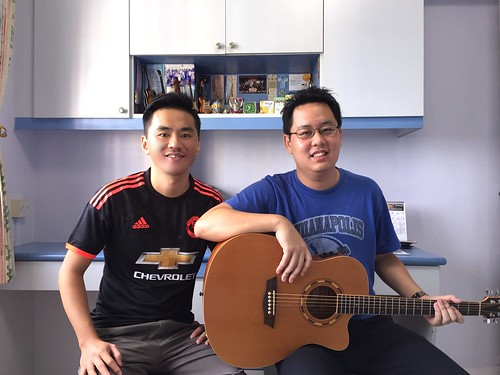 Private guitar lessons Singapore Jermaine
