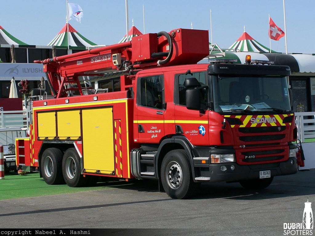 Scania P 410 Vema 282 TF Combi | Dubai Airports Rescue & F