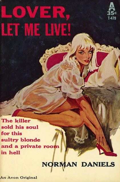 Avon Books T-479 - Norman Daniels - Lover, Let Me Live!