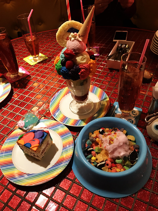 Food at Kawaii Monster Cafe
