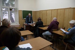С 26 сентября по 14 октября 2016 года в Литературном институте имени А.М. Горького проходили курсы повышения квалификации для преподавателей и педагогических работников «Академия искусств–2016».
