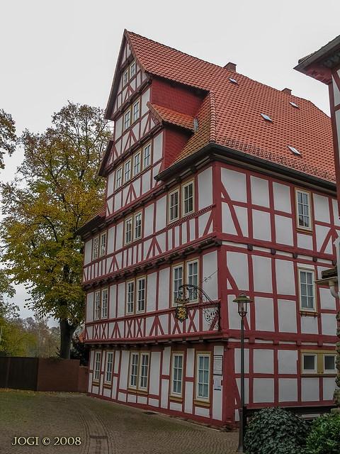 Duderstadt, Altstadt, Bibliothek, Niedersachsen (Harzvorland)