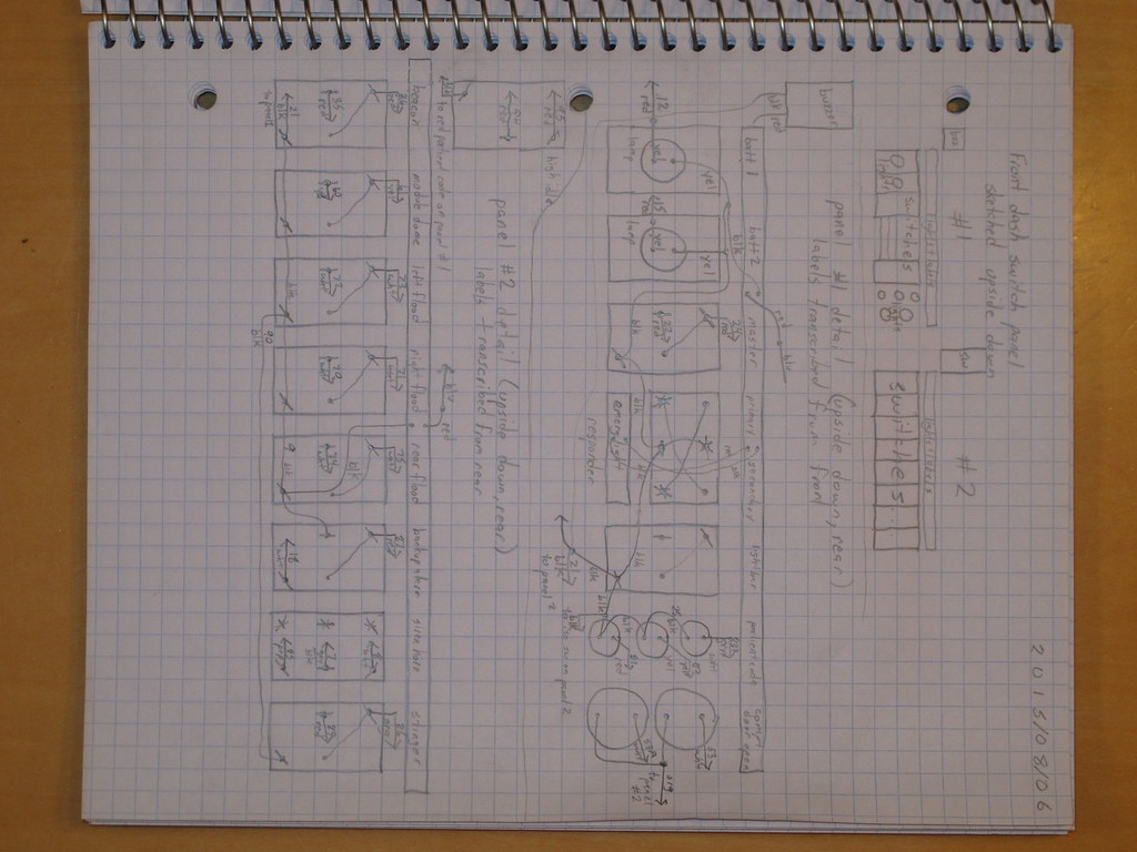 Ambulance wiring diagram sketch | Clarence Risher | FlickrFlickr