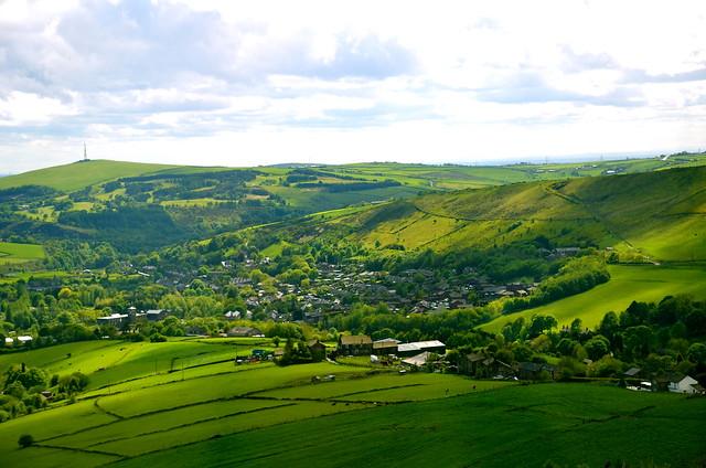 Yorkshire... härligt landskap