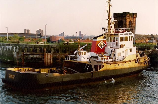 Tug Rowangarth 8th April 91
