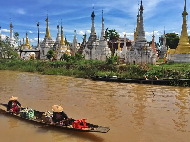Postal de Myanmar (Lago Inle)