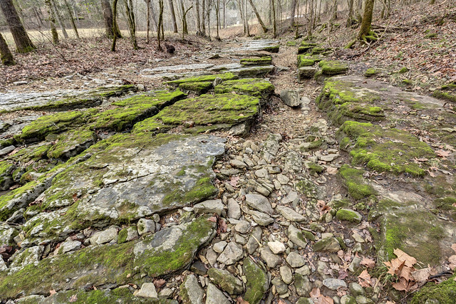 Indian Creek (dry), Putnam County, Tennessee