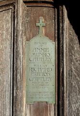 Annie Munro Cautley wife of Richard Hutton Cautley