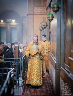 Литургия в Софийском соборе 260