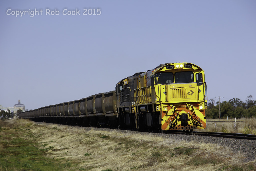 Darling Downs empty coal by Robert Cook