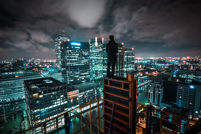 City of glass and steel