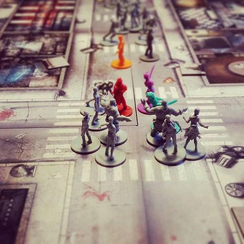 #Zombicide #boardgames | by Romain - Lyon