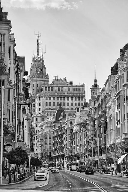 Espanha - Madrid - Calle Gran Vía