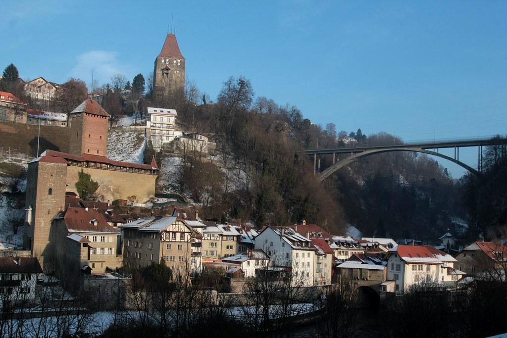 Altstadt - Stadt Freiburg - Ville de Fribourg im Üechtland ...