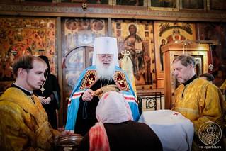Литургия в Софийском соборе 420