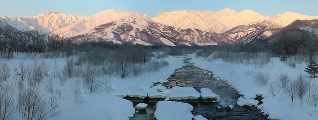 Hakuba - Japan Alps - 7am