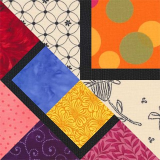 September Border - Corner Block | by Grey Cat Quilts
