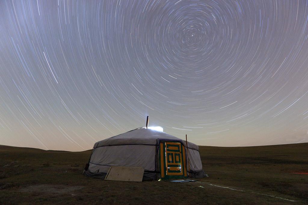 Mongolian House Under The Stars Suren Surakhbayar Flickr
