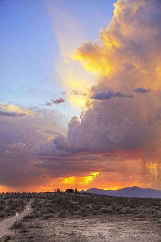 sunset arizona clouds canon colorful desert az hdr whitetanks litchfieldpark 50d qtpfsgui luminancehdr