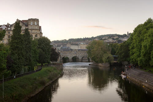 city uk travel bridge summer england sky heritage river evening nikon bath cityscape roman unitedkingdom somerset tourist worldheritagesite clear destination attraction riveravon pulteneybridge d600 nikond600