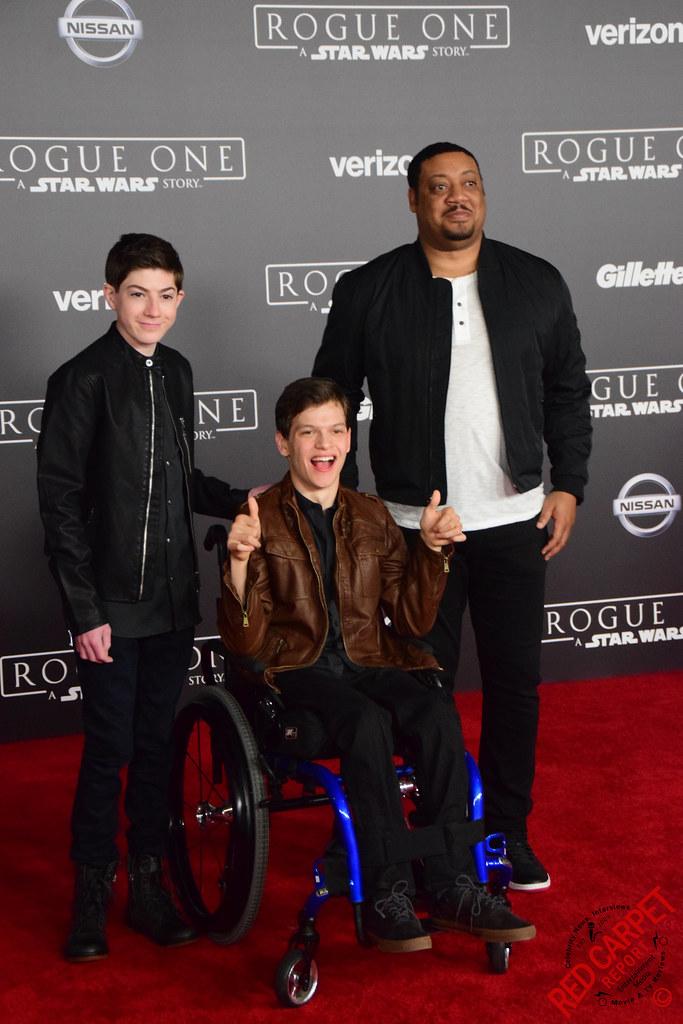 Mason Cook, Micah Fowler & Cedric Yarbrough at the Rogue O